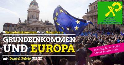 Grundeinkommen und Europa